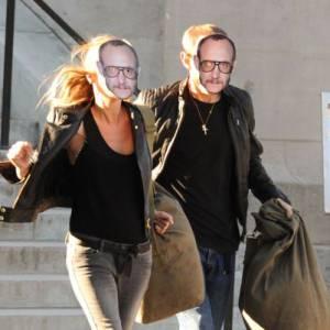 Kate Moss et Terry Richardson, une sacrée ruse pour passer incognito.