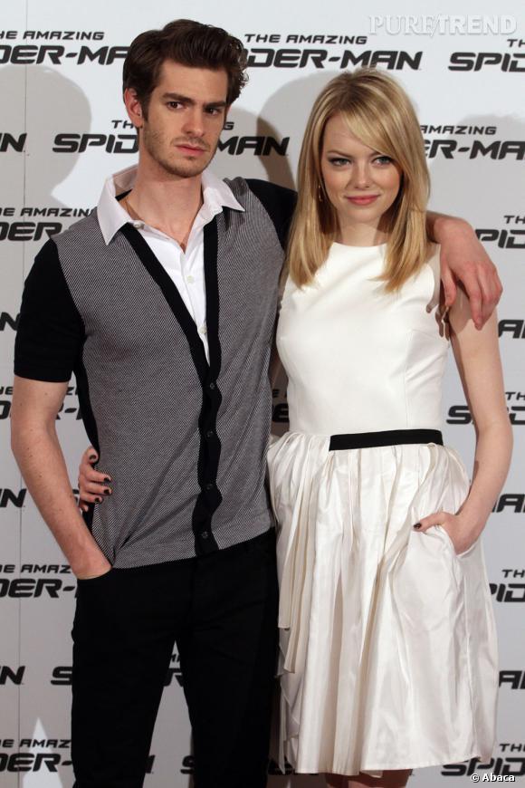 Le couple Emma Stone et Andrew Garfield, toujours aussi bien accordé !