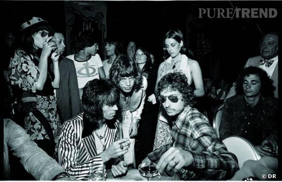 """Livre """"Legends : Untold Stories"""" de Ray-Ban.   Bob Dylan et les Rolling Stones."""