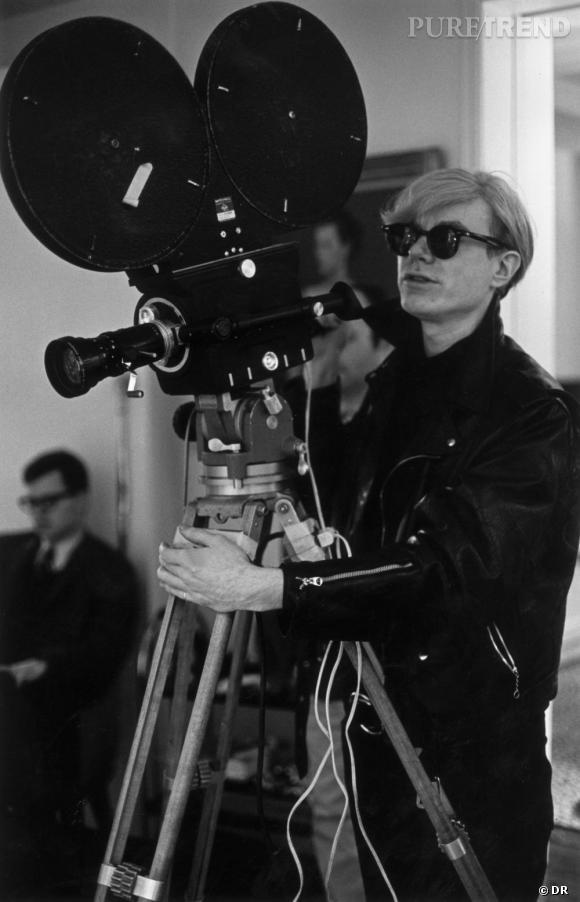 "Livre ""Legends : Untold Stories"" de Ray-Ban.   Andy Warhol"