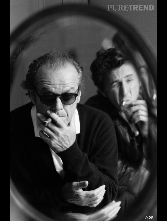"""Livre """"Legends : Untold Stories"""" de Ray-Ban.   Jack Nicholson"""