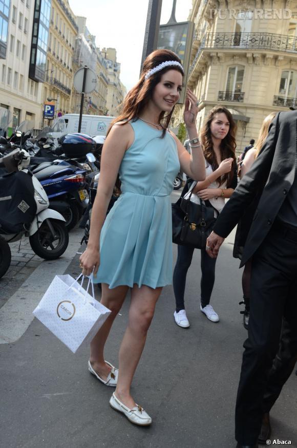 Lana Del Rey restera du côté de l'Avenue Montaigne.