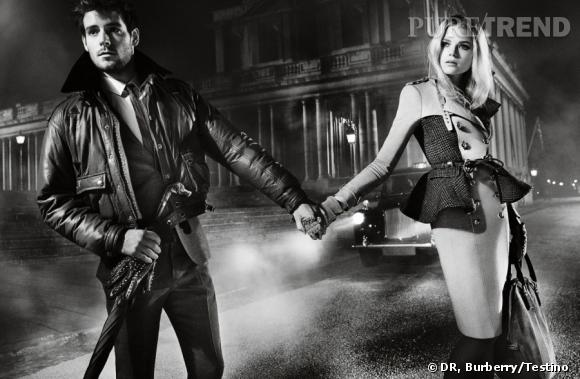 Campagne Burberry, Automne-Hiver 2012/2013.