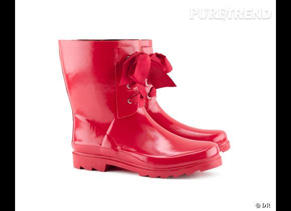 Le must have de Jennifer       Bottes de pluie H&M, 24,95 €