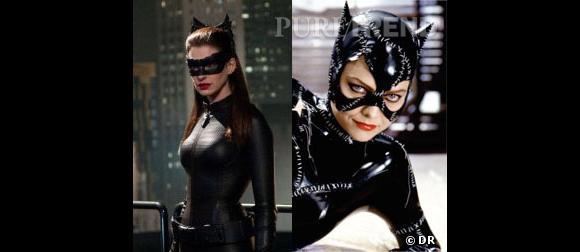 Anne Hathaway VS Michelle Pfeiffer : qui sera la meilleure Catwoman ?
