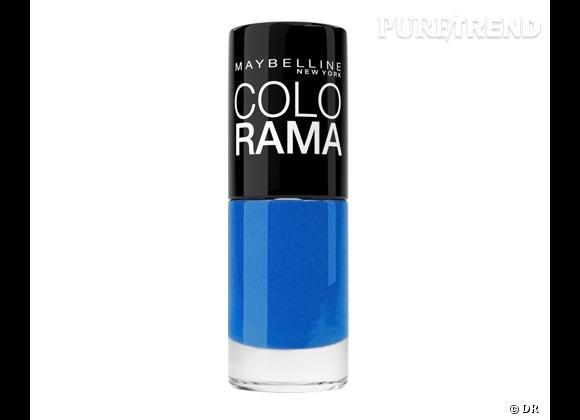 Vernis Ocean Blue, Colorama de Maybelline, 4 €.