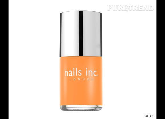 Vernis Westbourne Grove, Neon Orange de Nail Inc. 14 €. En exclusivité chez Sephora.