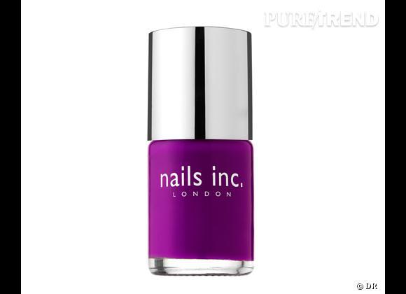 Vernis Holland Park, Neon Purple de Nail Inc. 14 €. En exclusivité chez Sephora.