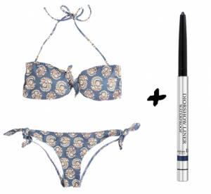 Maillot de bain + maquillage waterproof : nos 15 combinaisons mode et beauté de l'été