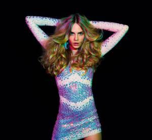 Cara Delevingne : transformée en disco queen pour la campagne Blumarine