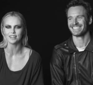 Charlize Theron et Michael Fassbender, très complices, se confient devant la caméra de Lynn Hirschberg