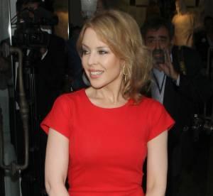 Kylie Minogue fait chavirer le coeur des anglais dans sa robe Stella McCartney