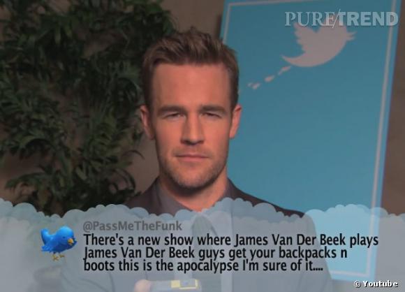 James Van der Beek jouant son propre rôle : ça en perturbe certains !