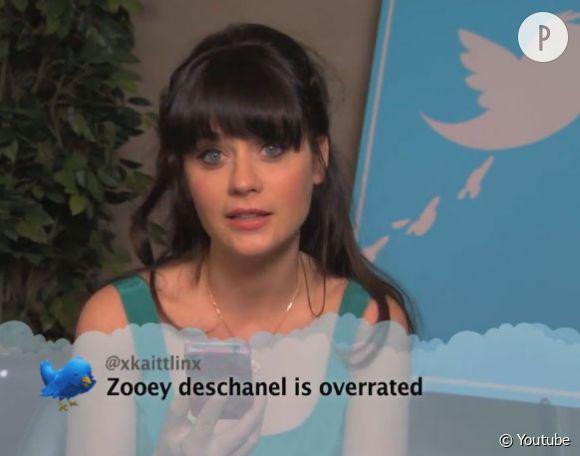 Zooey Deschanel se défend tant bien que mal