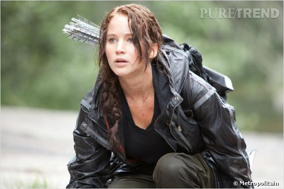 """Jennifer Lawrence, la nouvelle recrue des films d'action promet déjà avec """"Hunger Games""""."""