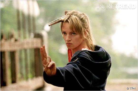 "Uma Thurman, la bombe de ""Kill Bill""."