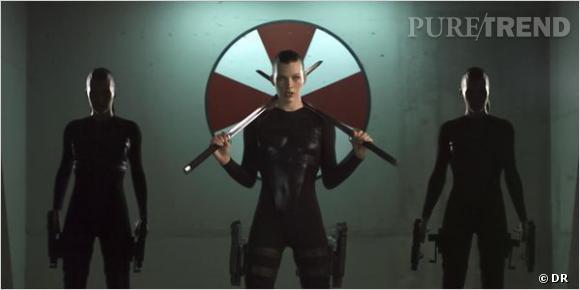 Milla Jovovich, une héroïne de films d'action qui ne manque vraiment pas de sex-appeal.