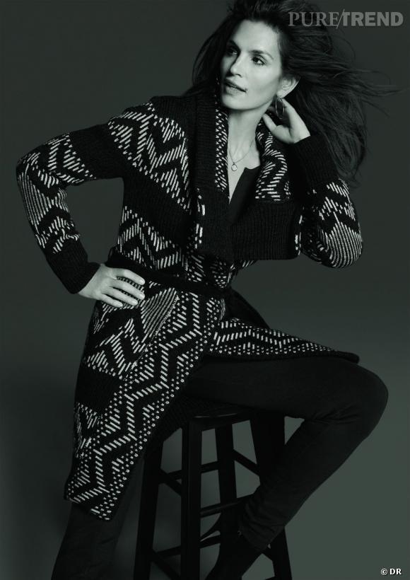 """""""Cindy Crawford Collection @ C&A"""" à partir du 3 septembre 2012."""