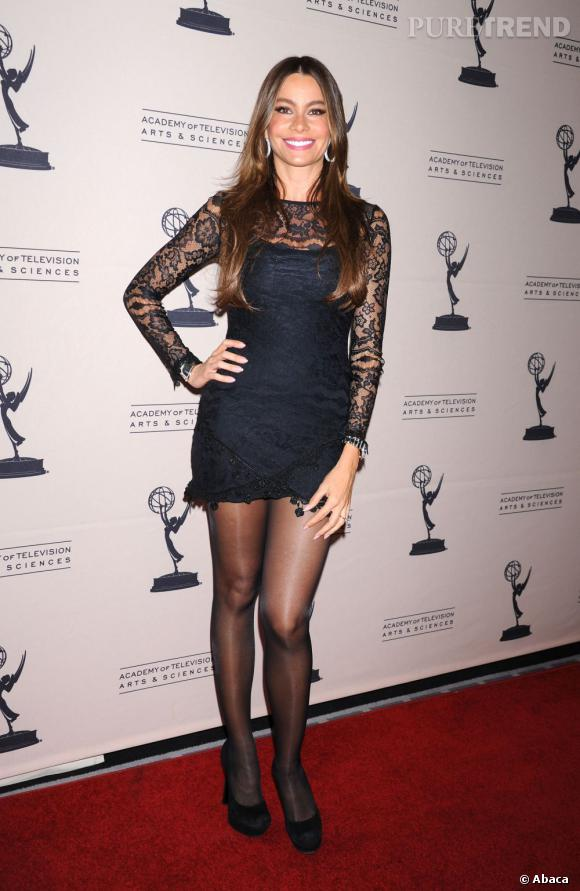 Sofia Vergara, une bombe latine sur red carpet.