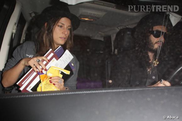 2012 : Nikolett Barabas, une autre top model et actrice à craquer pour Russell Brand