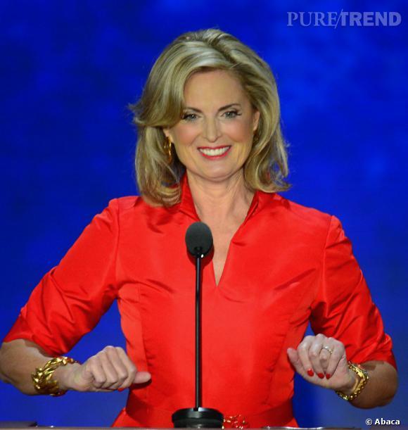 On attend encore la réaction de Ann Romney...