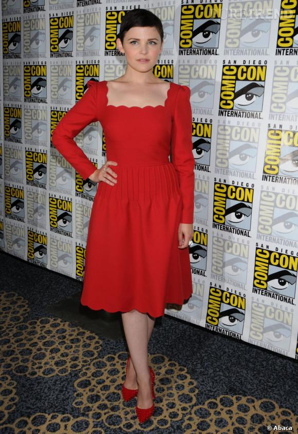 Côté red carpet :  Ginnifer Goodwin.