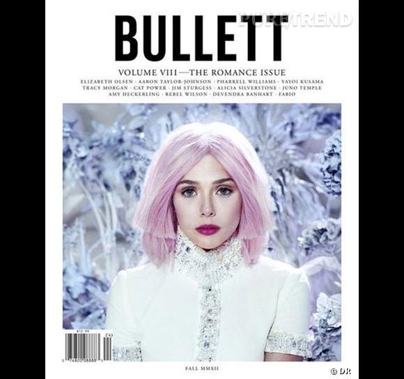 Elizabeth Olsen pour Bullett magazine.