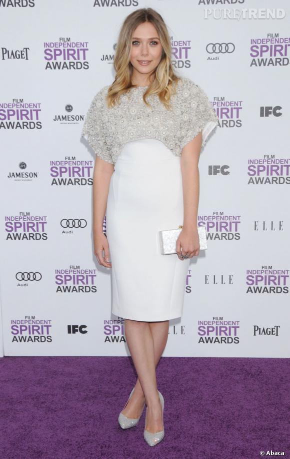 Elizabeth Olsen, la reine de l'audace sur red carpet.