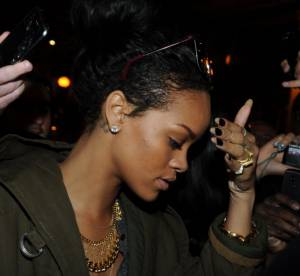 Rihanna a Paris : elle cree l'emeute et insulte les Francais