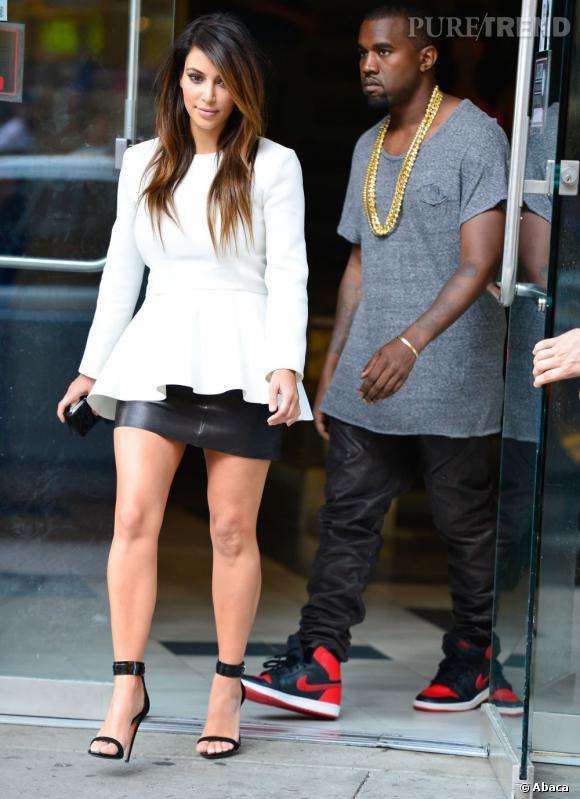 Kim Kardashian, un nouveau style pour Kanye West.