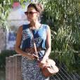 Comme nous, Eva Mendes a ses fashion fixettes comme le Cartridge Bag de Ralph Lauren
