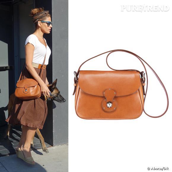 Wanted ! Le chouchou d'Eva Mendes : l'it-bag Ralph Lauren Collection, le Cartridge Bag