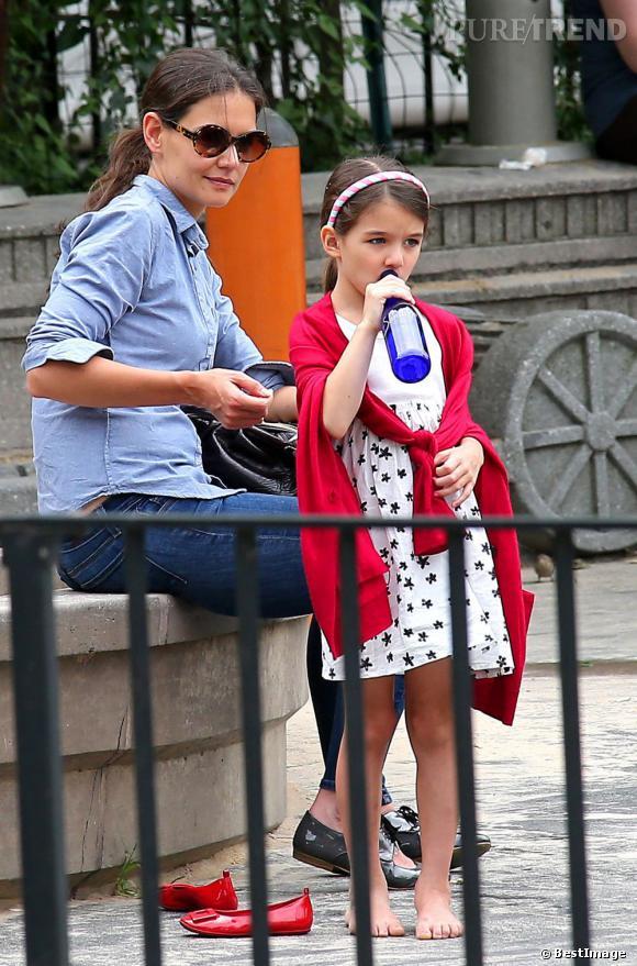 Katie Holmes, moins stylée que sa fille Suri Cruise ?