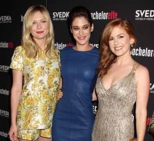 """Les trois actrices du film """"Bachelorette"""" ont toutes montré un style très différent pour la première à New York."""