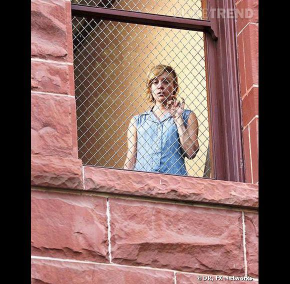 """""""American Horror Story"""", Chloë Sevigny dans le rôle d'une nymphomane."""