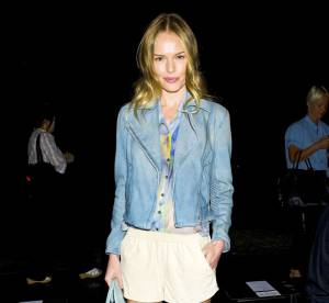 Kate Bosworth, des nuances pastel pour la Fashion Week... A shopper !