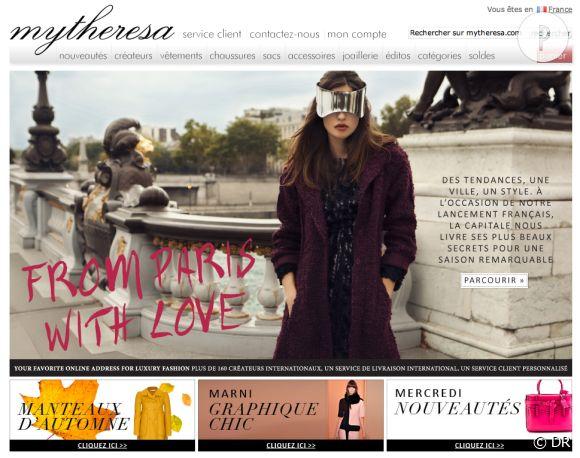 Mytheresa.com lance une version française