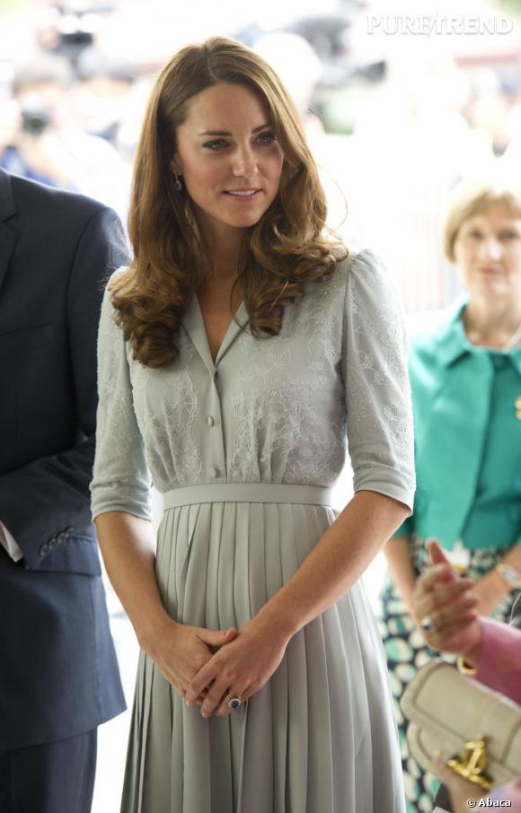 Kate Middleton à son arrivée dans la capitale de Malaisie, Kuala Lumpur, le 13 septembre dernier.