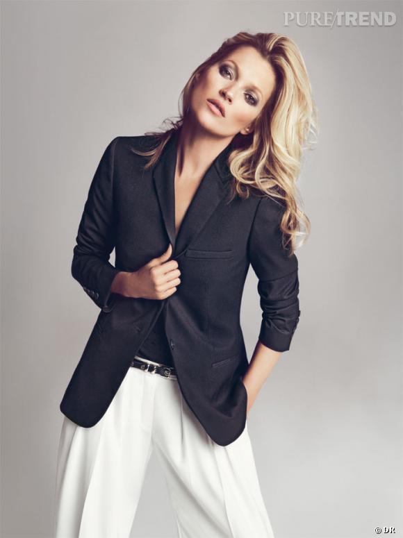 10 mannequins britanniques à connaître ! Kate Moss Campagne Mango Automne-Hiver 2012/2013