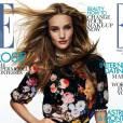 10 mannequins britanniques à connaître !      Rosie Huntington Whiteley     Couverture Elle UK septembre 2012