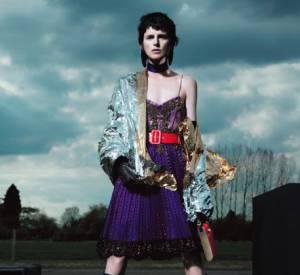 10 mannequins britanniques à connaître ! Stella Tennant Campagne Givenchy Automne-Hiver 2012/2013