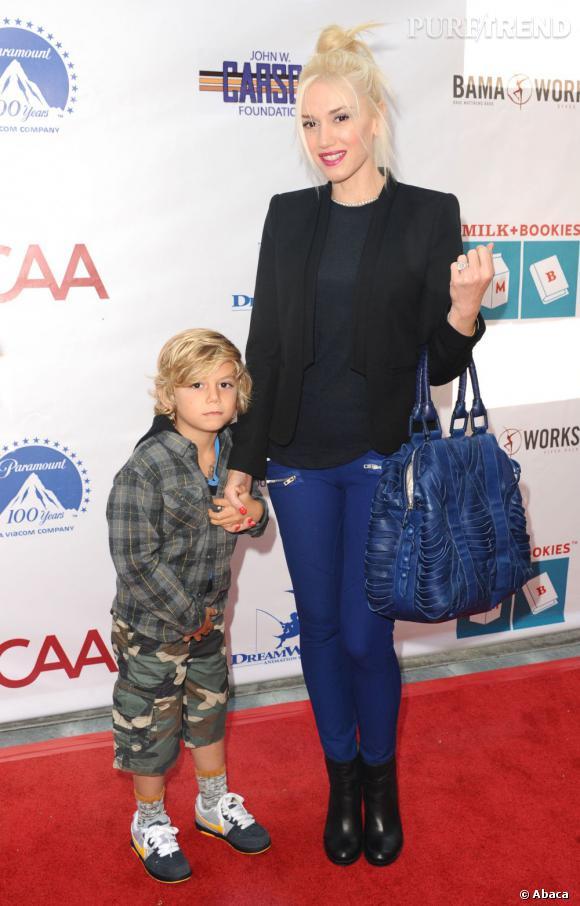 Gwen Stefani, une maman pleine de pep's.