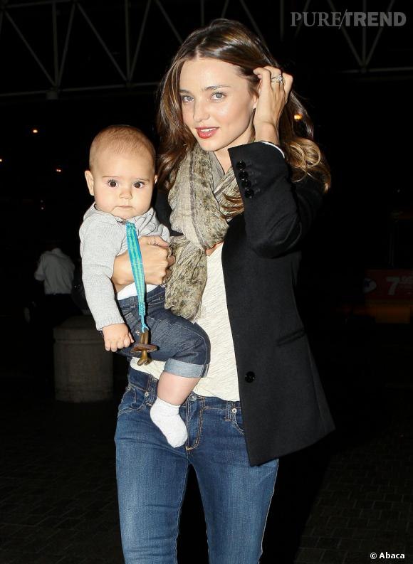 Miranda Kerr, la plus belle des mamans new-yorkaises.