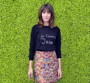 Alexa Chung VS Olivia Wilde : le pull ''Je t'aime Jane'' de Bella Freud