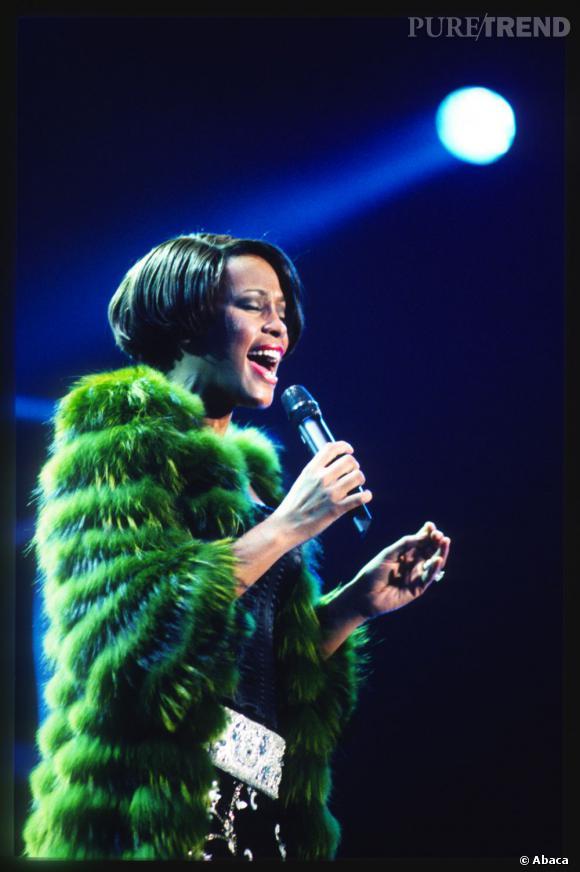 L'académie des Grammy Awards rend hommage à Whitney Houston au cours d'uné émisson-concert diffusée sur CBS.