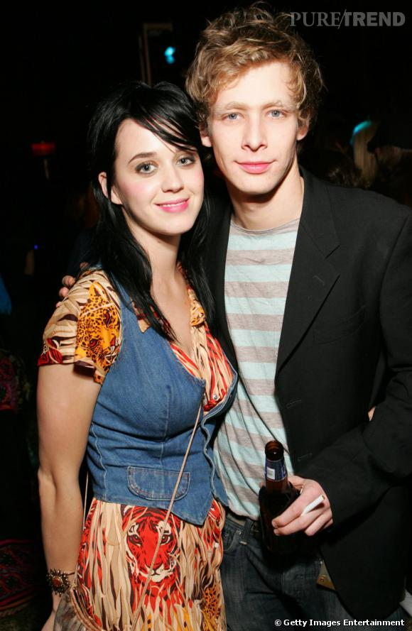 Johnny Lewis et Katy Perry en 2006.