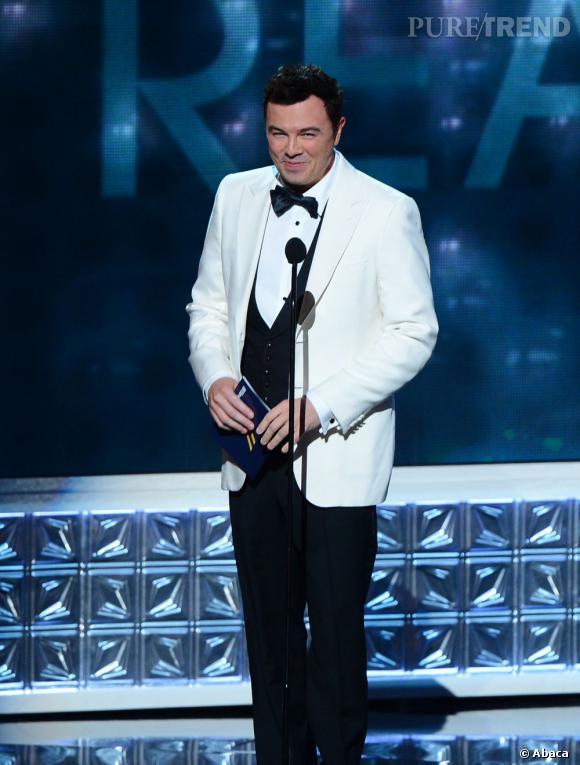 Seth MacFarlane a été choisi pour présenter les Oscars le 24 février 2013.