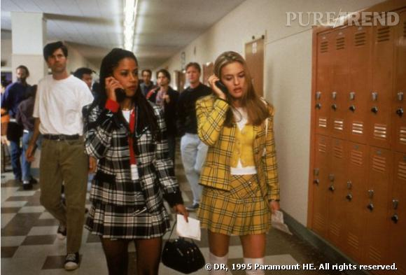 "Stacey Dash et Alicia Silverstone dans le film ""Clueless""."