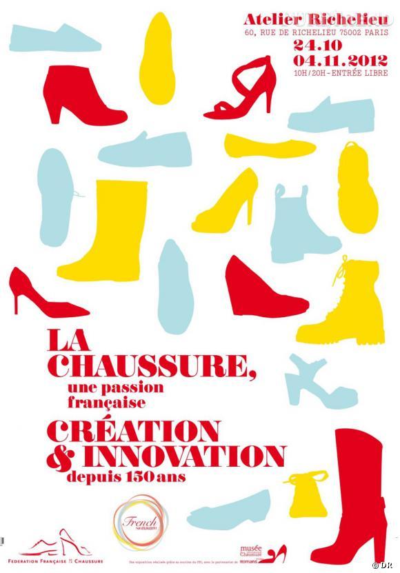 La Chaussure, une passion française – Création & Innovation depuis 150 ans, du 24 octobre au 4 novembre 2012.