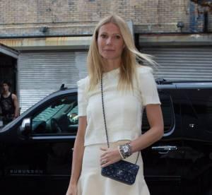 Gwyneth Paltrow, chic et fluo à New York... A shopper !